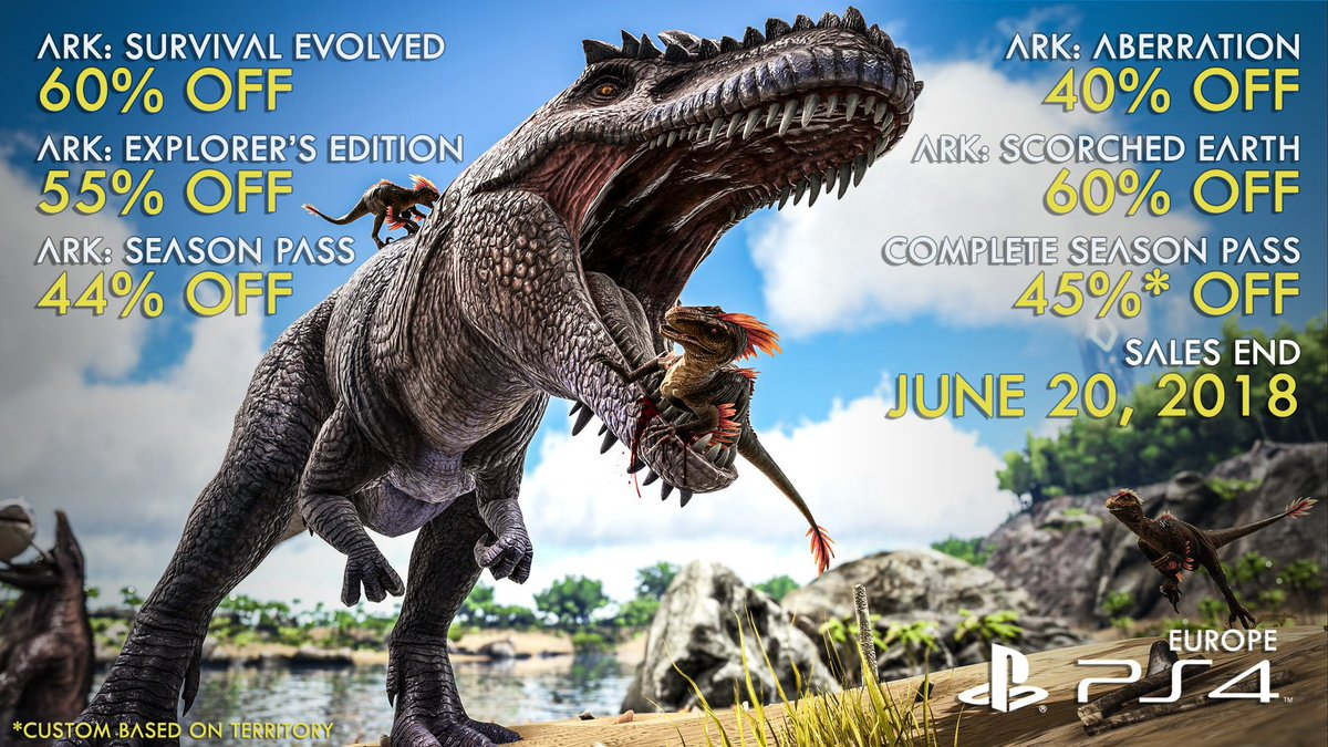 ark survival evolved on twitter it s our biggest ark sale ever