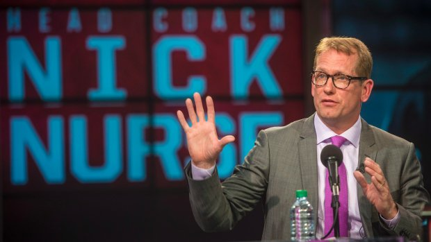 With Nick Nurse at the helm the Raptors want to try something different, but whether different means better or worse remains to be seen (and depends on the players he has to work with): Photo