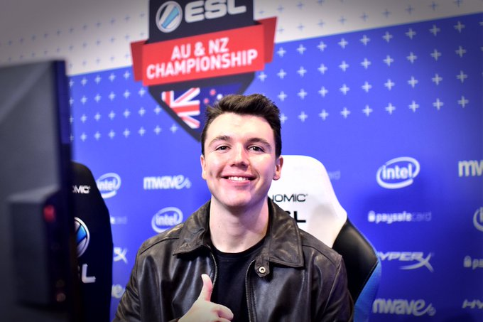 Are you ready for the #ESLAUNZ Championship finals this weekend? @DickStacyy is! Be sure to follow our Instagram story at for behind-the-scenes pics, interviews and more! Photo