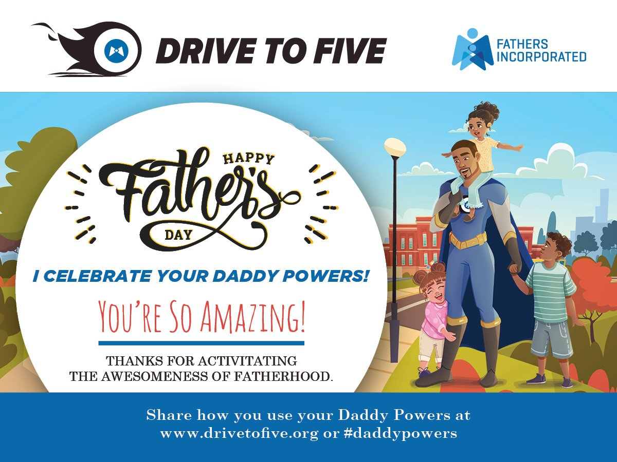 Enjoy your Father's Day this Sunday. You deserve to be celebrated. #makeamoment