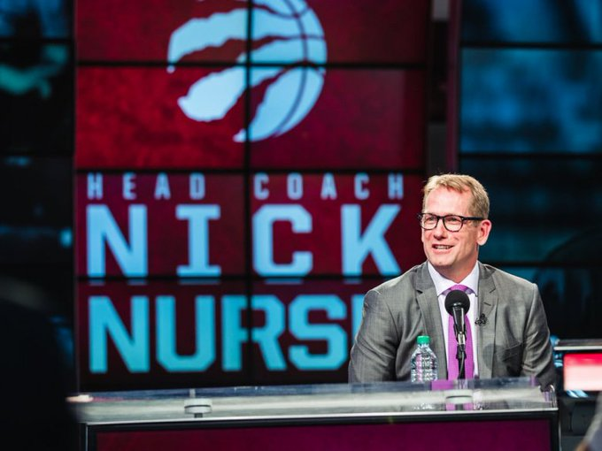 #NBA: Toronto Raptors officially name Nick Nurse head coach Photo