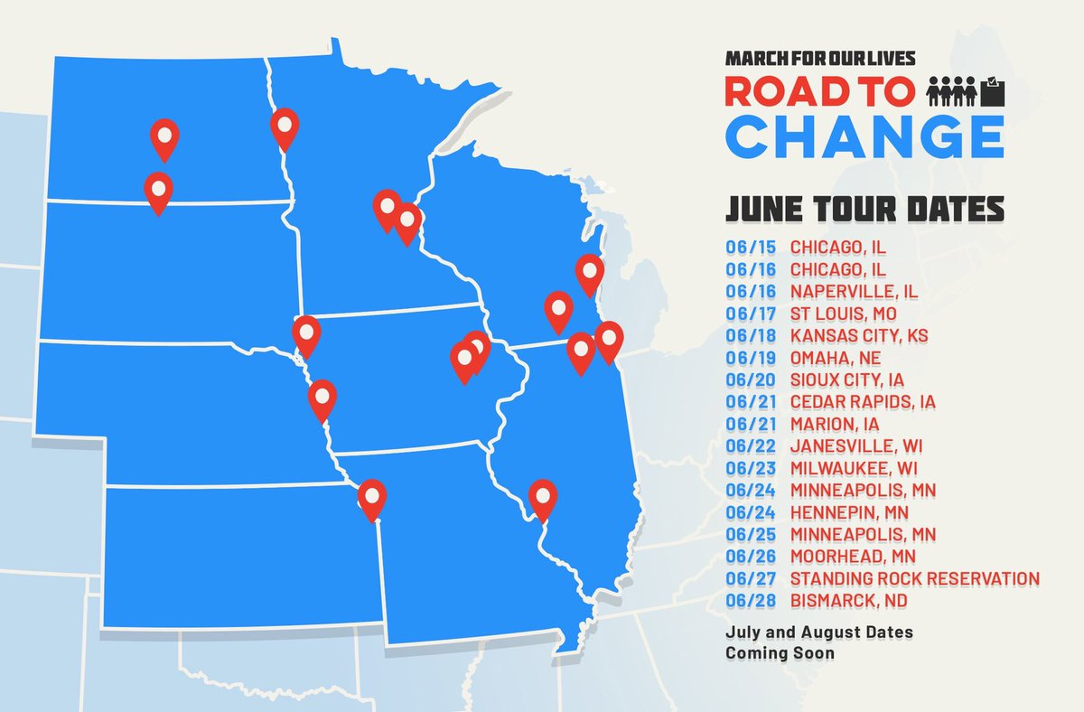 Tommorow, the #RoadToChange begins.
