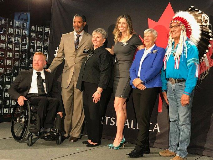 Canada's 2018 Canada Sports Hall of Fame induction class! #InspireCanada Photo