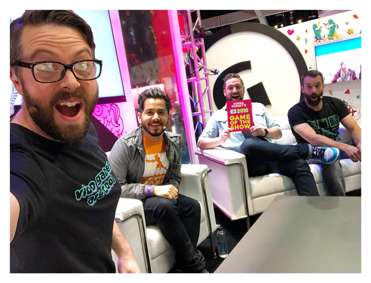 Greg miller on twitter e3 kinda funny meet and greet la live greg miller on twitter e3 kinda funny meet and greet la live gamespot stage 17 minutes and counting m4hsunfo