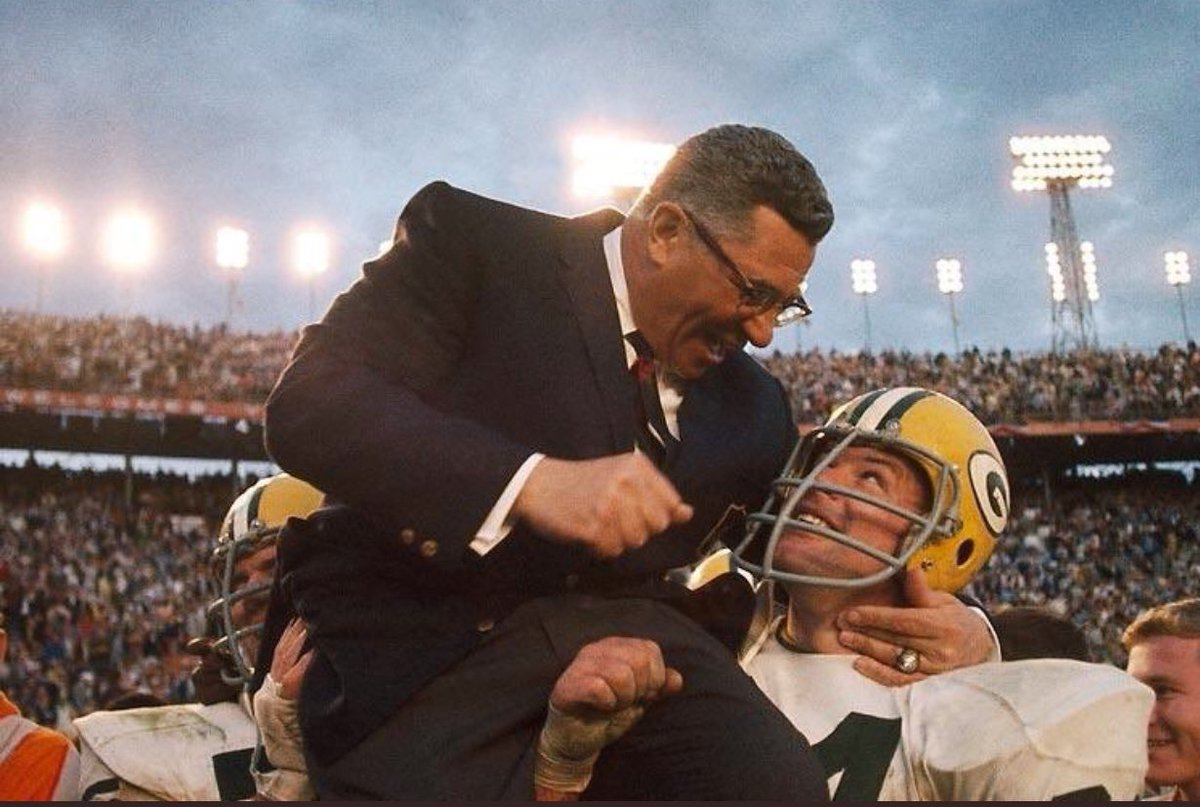 Vince Lombardi was so manly his dick was a fist.