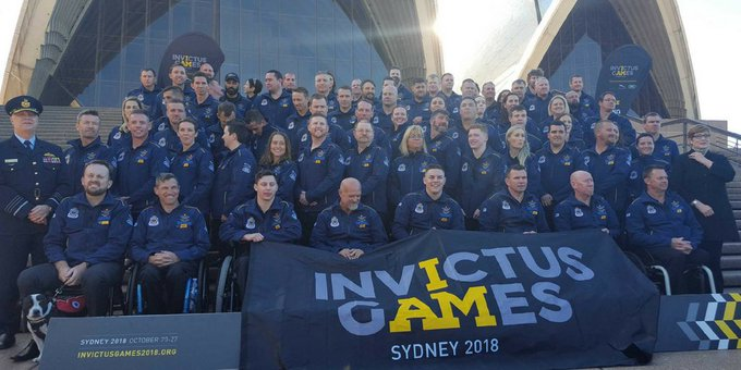 Congratulations to the 72 competitors from all over Australia who have been selected to represent @aussieinvictus on home turf! Invictus Games is coming to Sydney 20-27 October. Tickets now on sale at #GameOnDownUnder #IG2018 Photo