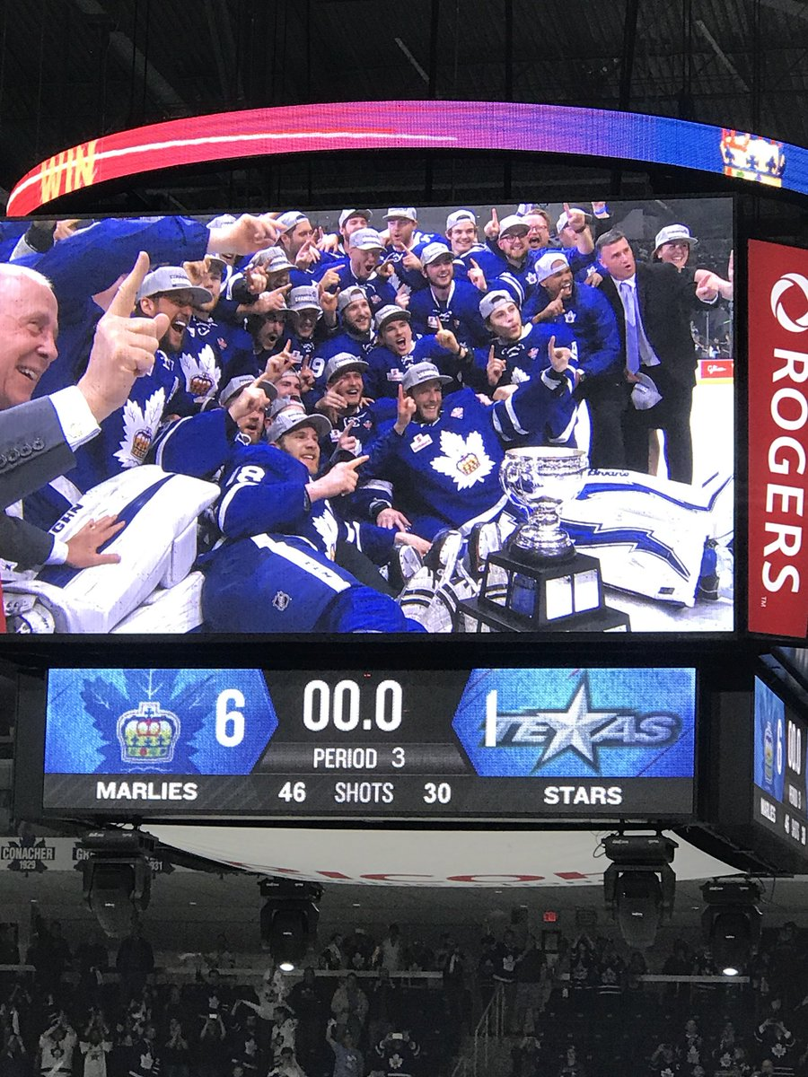Blueprint hockey blueprinthockey twitter congratulations to the torontomarlies on winning theahl caldercup tonite the toronto franchise finally has a cup picitterufclhycthw malvernweather Image collections