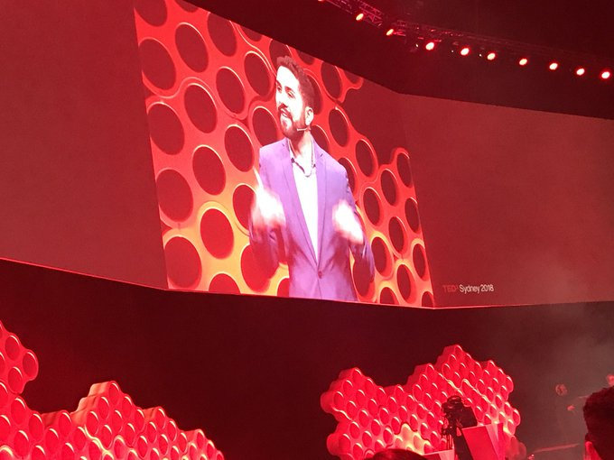 The framework for a good apology says criminal lawyer Jahan Kalantar 1. Why 2. Because 3. And Mean it & ALWAYS look people in the eyes! This will serve you well in life and business. @tedxsydney #TEDxSydney Photo