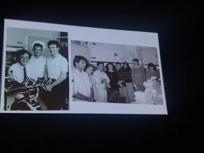 Associate Professor Phillip Cunningham from @SVHSydney reflects on the old days #DACSymposium Photo