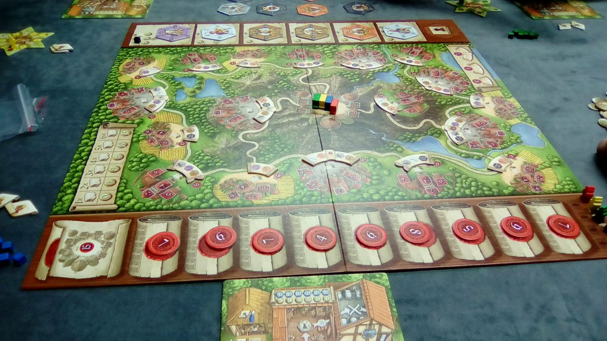 Played Queen's Architect for 1 hrs 30 mins on 2018-06-14 at Sobremesa with 3 friends.  #juegosdemesa #bgg #boardgames #bggplay #Mendoza #leparc   http://www. boardgamegeek.com/play/29569093     <br>http://pic.twitter.com/0nqkVssuNc
