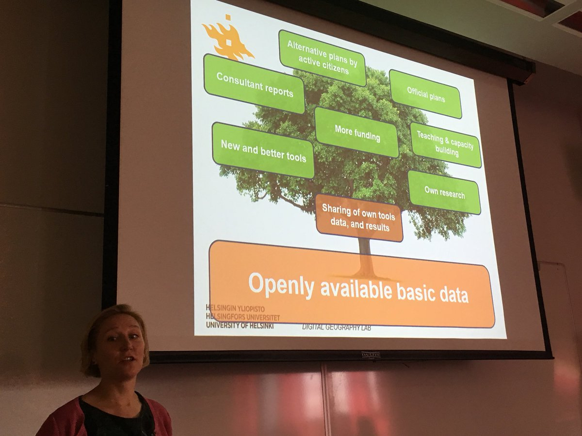 """""""With open data you get more, than you put in"""" says @TuuliToivonen #ECCB2018 <br>http://pic.twitter.com/c1ujK6O2H2"""