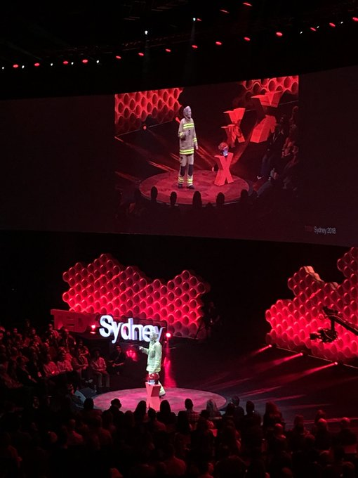 @bronniemackintosh Fire Fighter extraordinaire explains why greater diversity is crucial in emergency services today #TEDxSydney @tedxsydney Photo