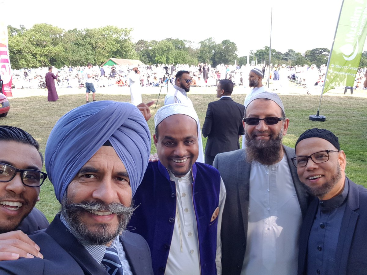 "Jas Athwal on Twitter: ""Eid in..."