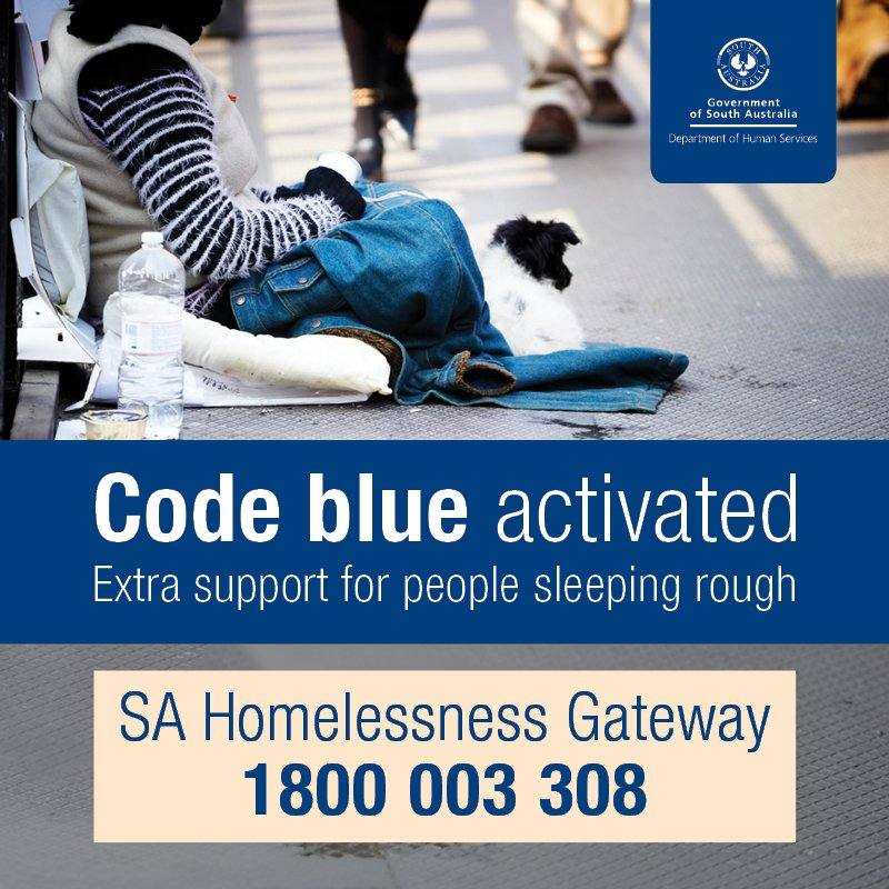 Code Blue remains in place until tomorrow morning. Please click for more information: https://t.co/AoQ4q9uPss