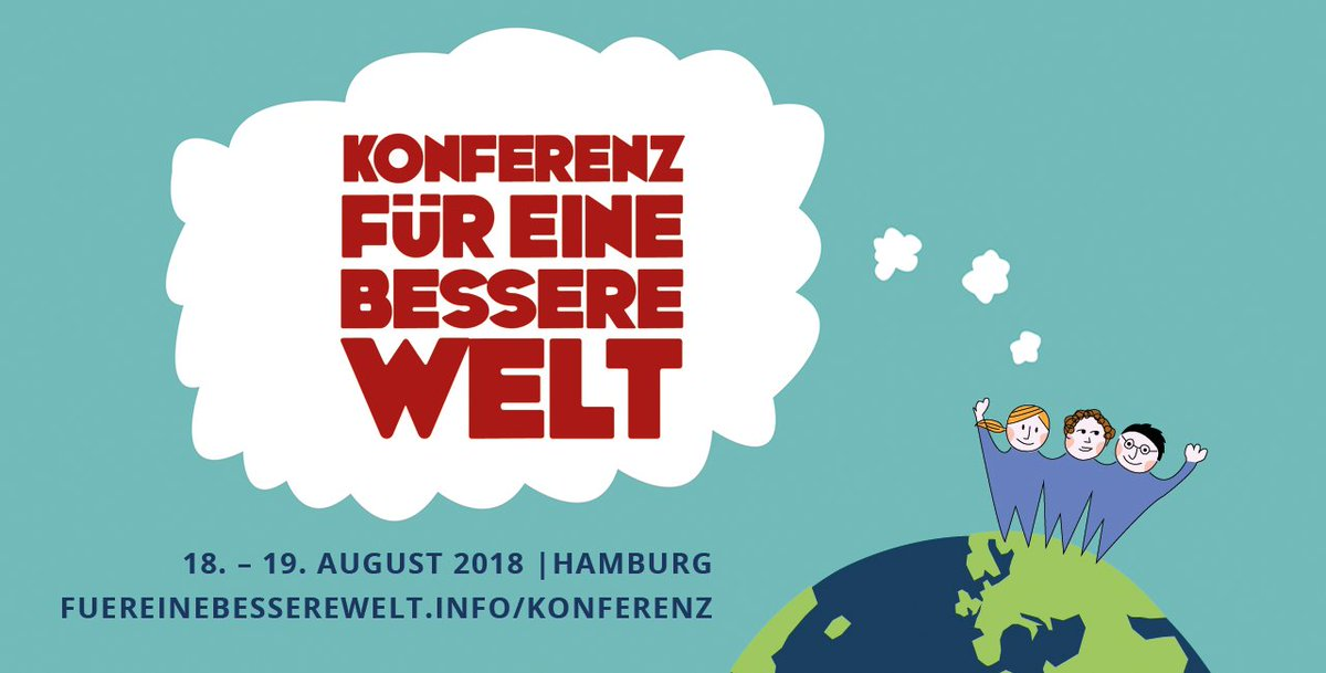 test Twitter Media - Save the date! Am 18. und 19. August bietet sich die Gelegenheit, übers Weltretten zu brainstormen https://t.co/K9LYHGuYLr https://t.co/Wh2CFg9qtp