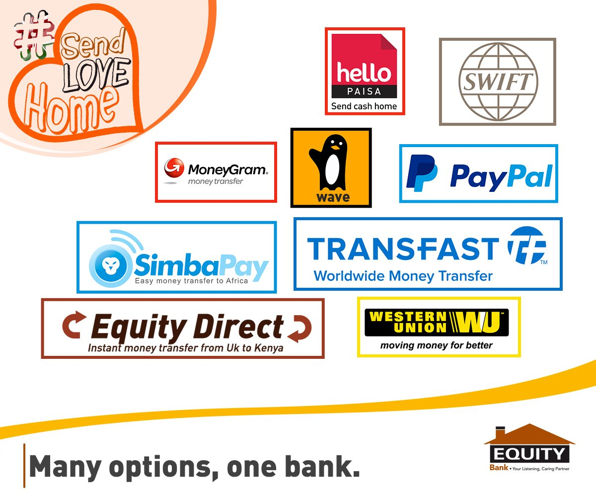 Are You A Kenyan Living Abroad With Over Ten Global Remittance Partners Equity Bank Offers The Most Convenient Way To Send Money Directly Your