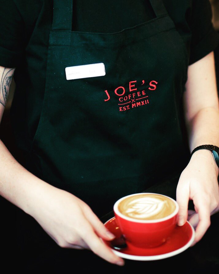 Send cover letter and CV to baristajobsjoesie