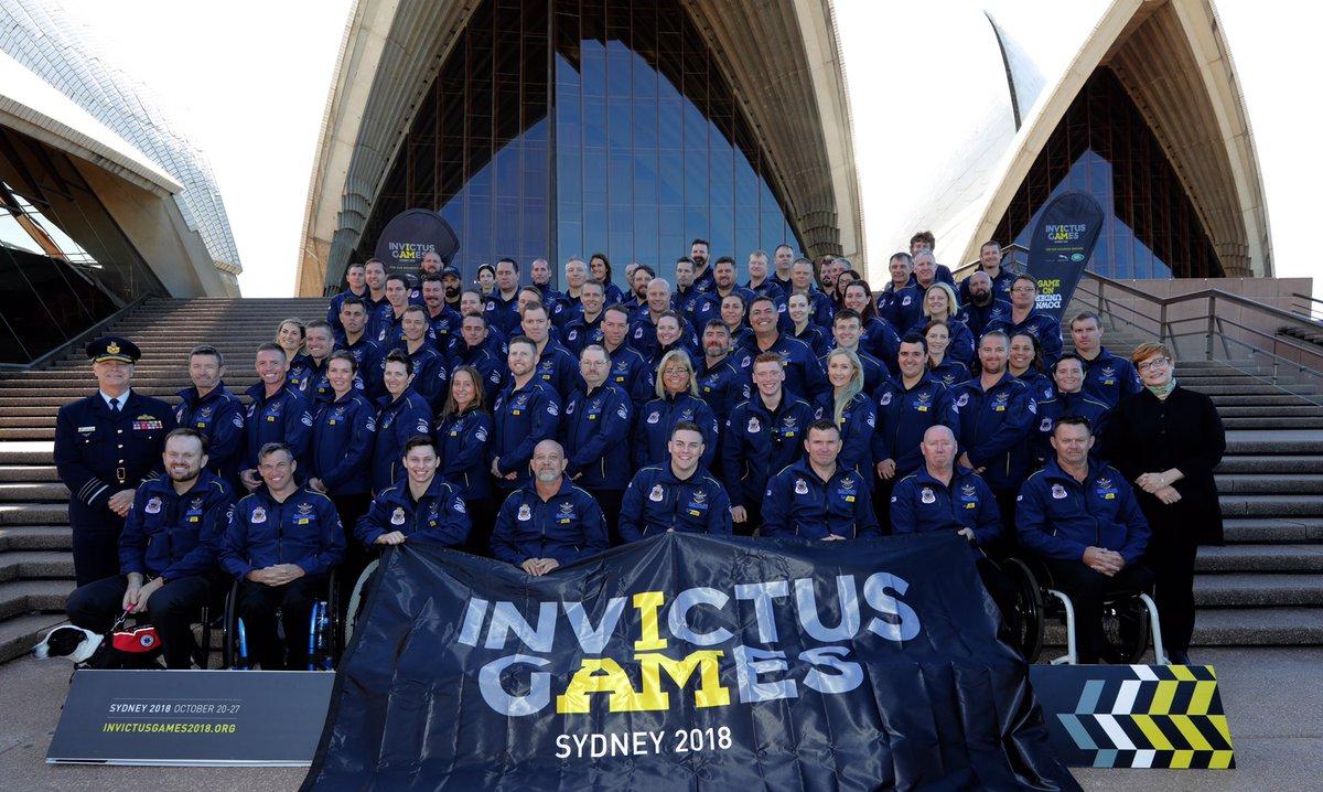 Introducing your Australian Invictus team #Unconquered #GameOnDownUnder