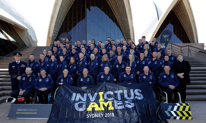 Introducing your Australian Invictus team #Unconquered #GameOnDownUnder Photo