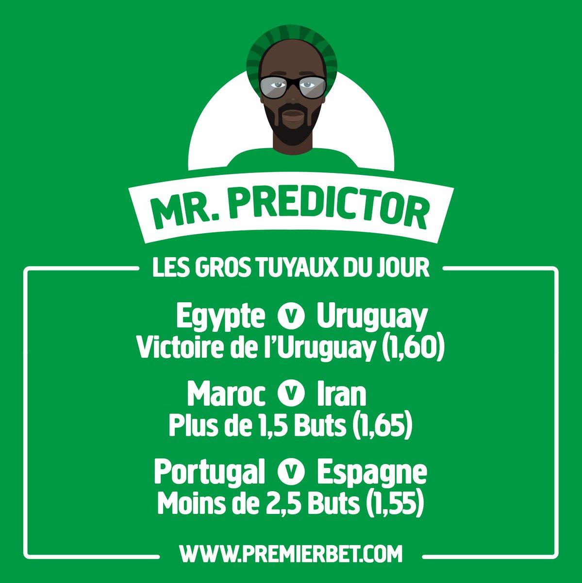 Sur qui pariez-vous aujourd'hui pour les matchs de Coupe du Monde ? Nous avons demandé l'avis de Mr. Predictor. #Portugal #Egypte #Espagne #Maroc #Uruguay  - FestivalFocus