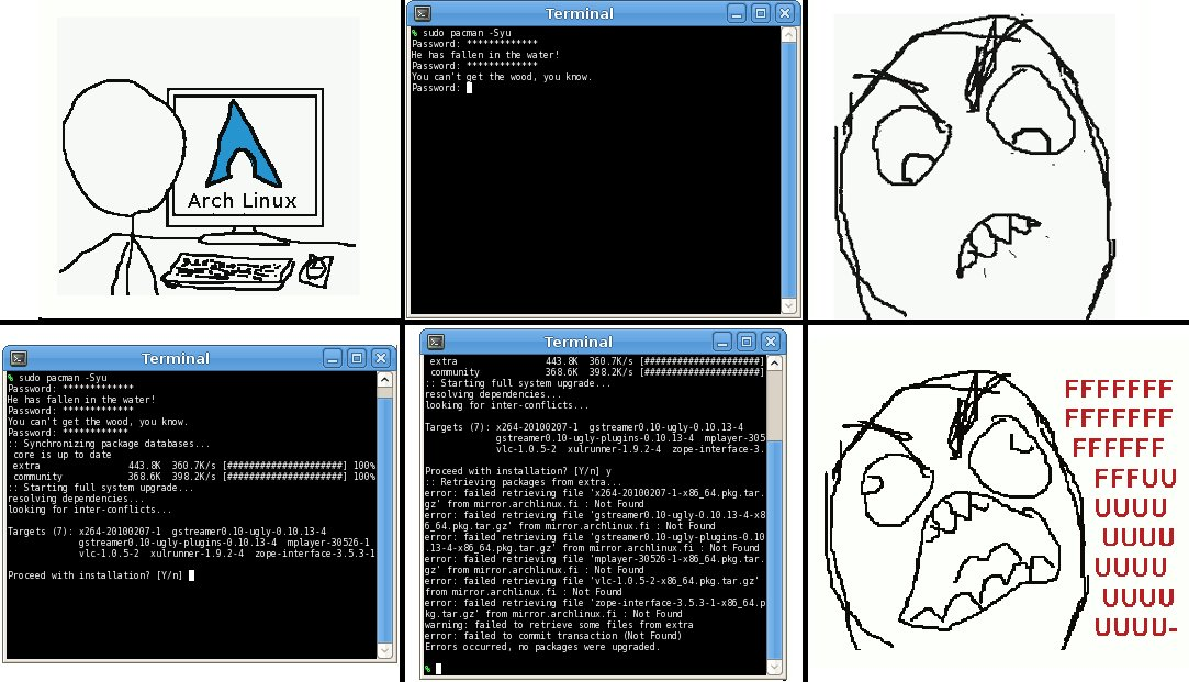 Arch Linux Memes on Twitter: