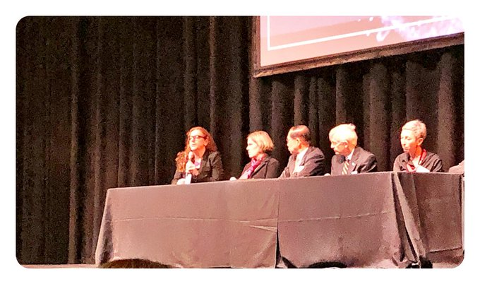 """.@carlatreloar from @CSRH_UNSW gets final word at the #DACSymposium: """"elimination is not a simple concept in definition or and we need to pay attention to who is left behind"""" Photo"""