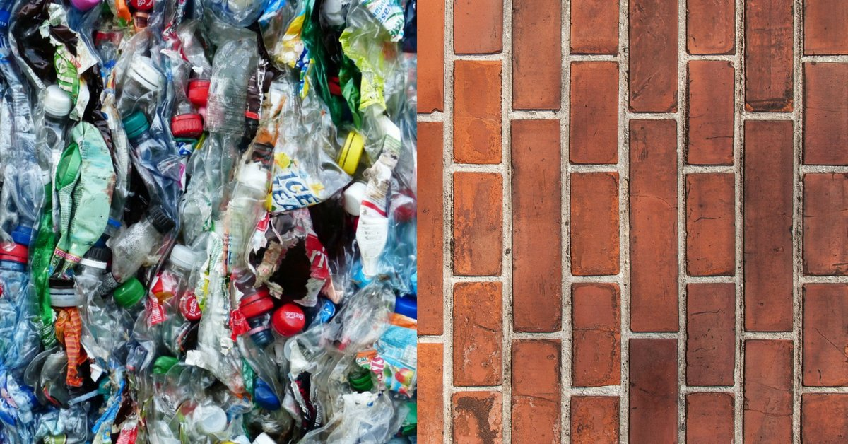 thebetterindia.com/146135/waste-p… Waste Plastic & Plant Fibres Can Now Be Used to Make Bricks, Thanks to IIT Roorkee!