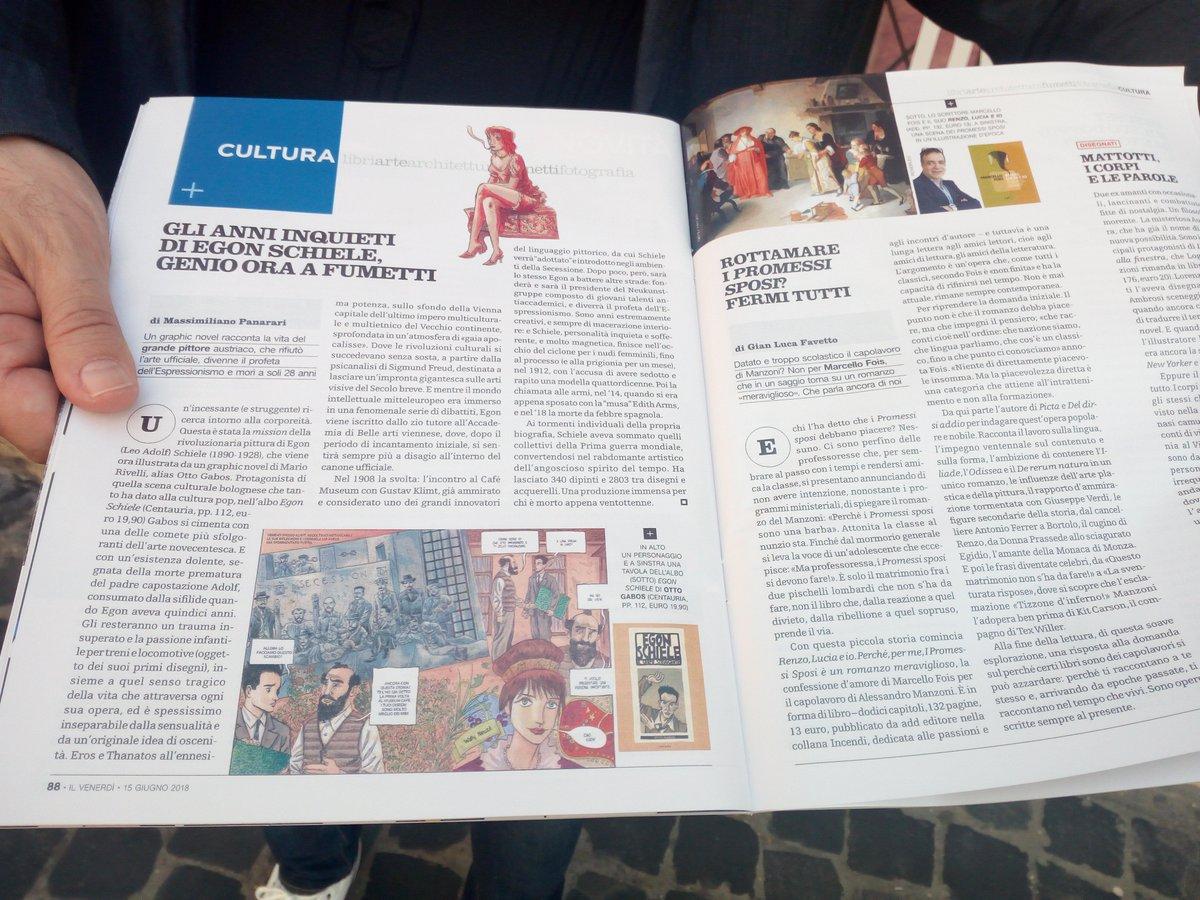 """""""Egon Schiele Il corpo struggente"""" di @ottogabos su Il Venerdi di @repubblica , grazie a @MPanarari!#15giugno #leggiamo  - Ukustom"""
