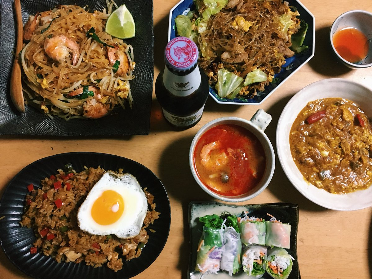 よっしゃ タイ料理ナイト🇹🇭🇹🇭