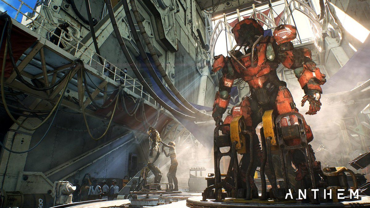 i cant find a gif of &quot;anthem PC gets into the battlemech first person&quot; which is the Best, but i still love the mechs overall.. the Interior... padded... mechs are so cool..... <br>http://pic.twitter.com/6i1Ldf1iTs