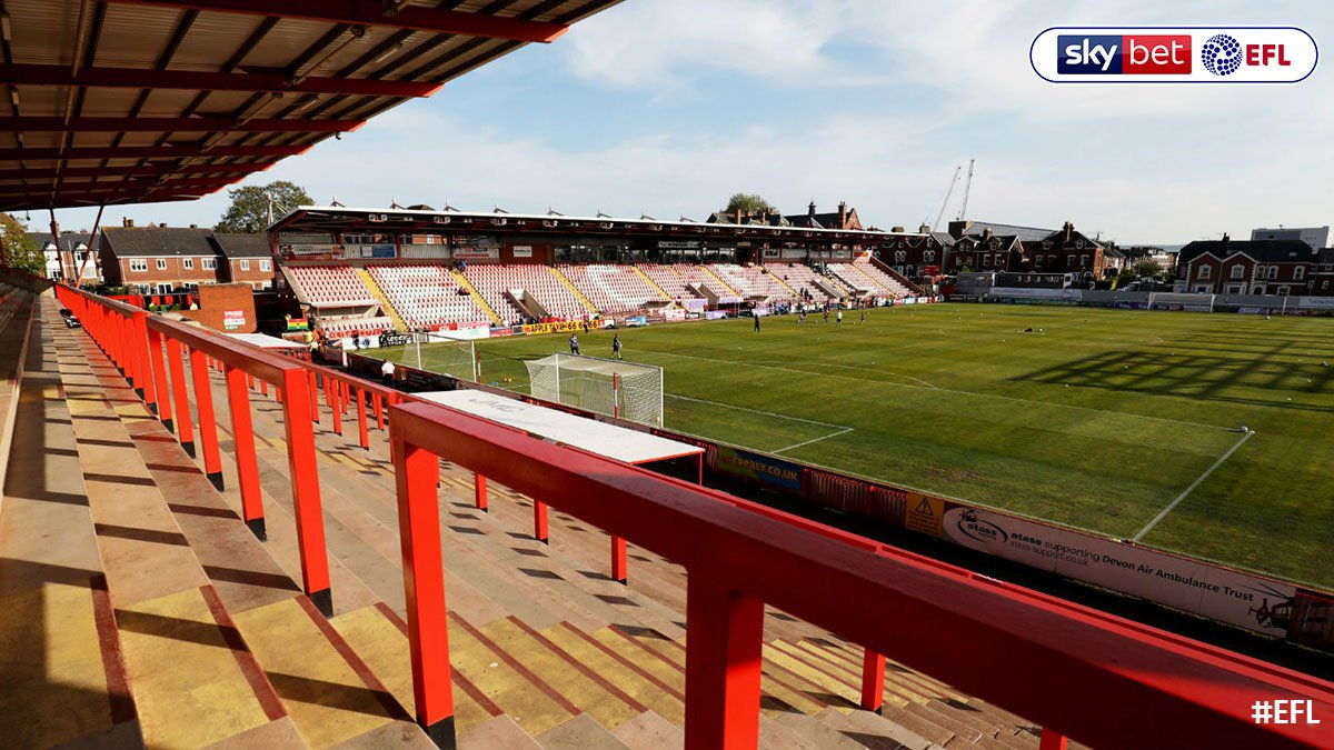 """""""It reduces the cost for supporters and increases the numbers, so it's fantastic for us."""" @OfficialECFC chairman Julian Tagg on the standing debate >> po.st/WT0vKE"""