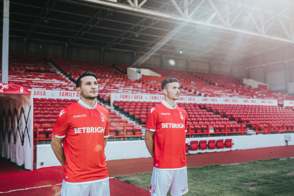 😎 Bom Dia New signings João Carvalho and Diogo Gonçalves exclusively revealed the new #NFFC @MacronSports home kit yesterday. Pre-order details of how you can get your hands on the new shirt will be released soon. #ThatLovingFeeling