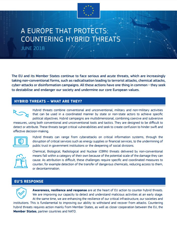 A Host Of Common Chemicals Endanger >> Eur Lex On Twitter Securityunion Eu Works To Increase Resilience