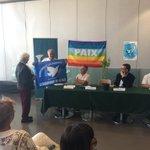 [VILLE POUR LA PAIX] Aux côtés de mon collègue maire de Grigny @prio91350 pour officialiser l'adhésion de @laseynesurmer au mouvement des communes pour la #paix