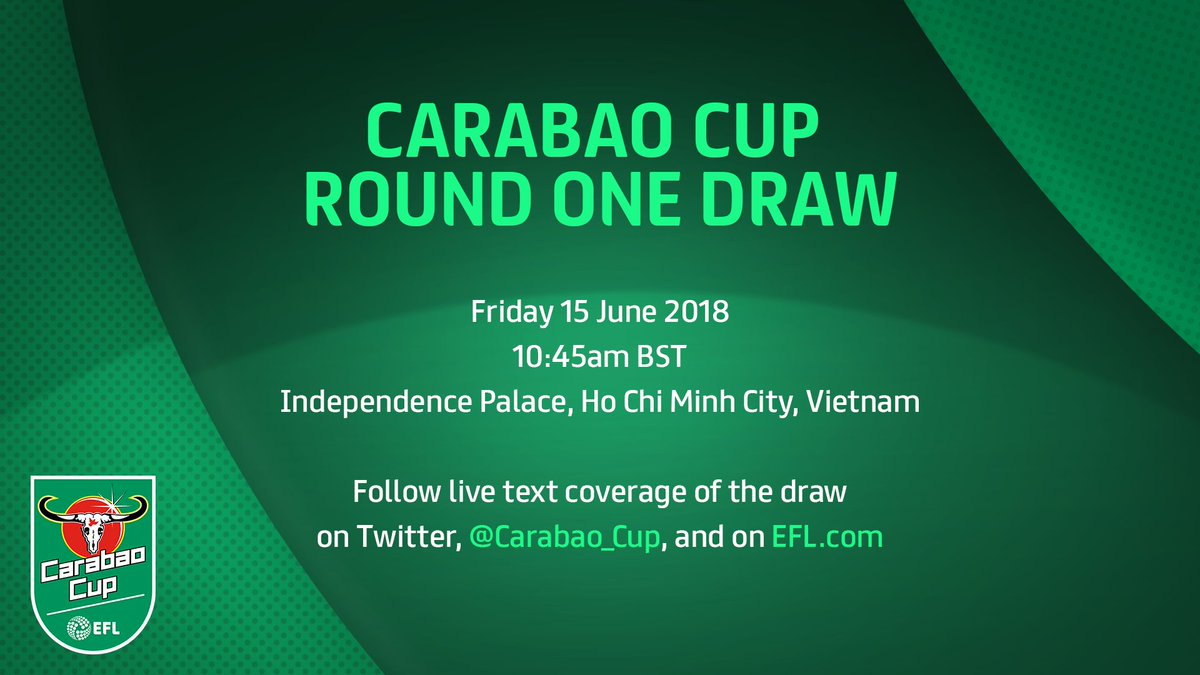 #CarabaoCup: Round One Draw 🔢 Blog 💻 >> po.st/R1DrawLIVE Listen on @talkSPORT2 📻 >> tlks.pt/2ListenLive
