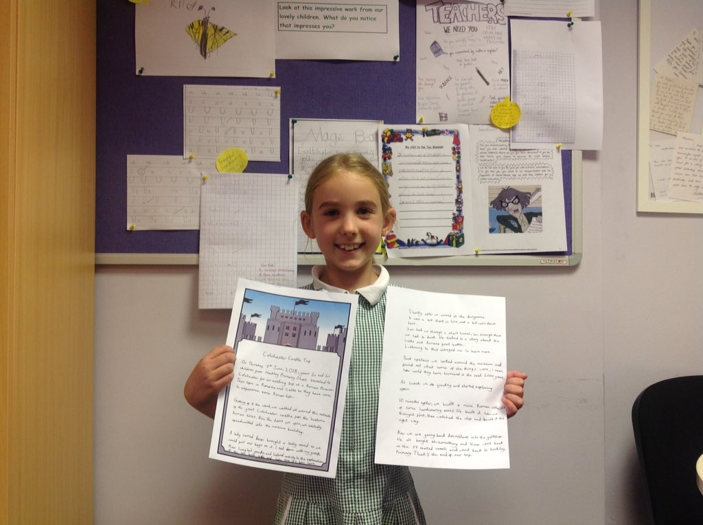 Hockley Primary School - WOW Wall 15-6-18
