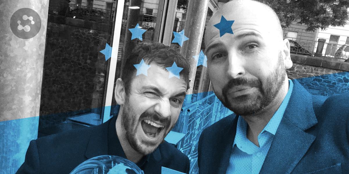 """Získali jsme stříbro za """"Nové zákony placení"""" na IMC Czech Awards v kategorii Produktový launch. Twistus s námi! @Twistocz https://t.co/74XuIeSbin"""