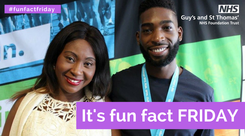 Tinie Tempah and his Mum at Guy's Urban Challenge 2015