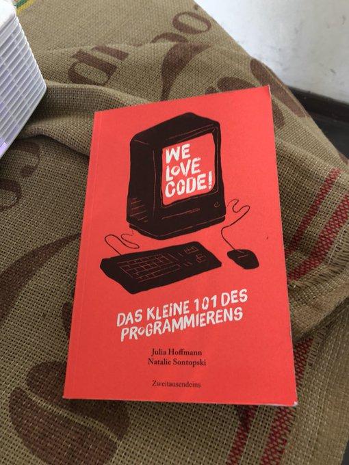 Da hat @FrauSchnatalie wohl ein neues Buch auf meine Liste gesetzt. #codegirls #waterkant18 Foto