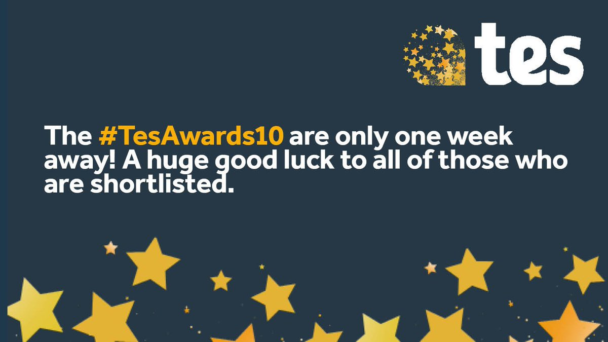 1652f38d121 Who else is else excited for the  tes awards  We re so excited we ve  already polished our shoes – let us know if you ll be there in the comments  below!