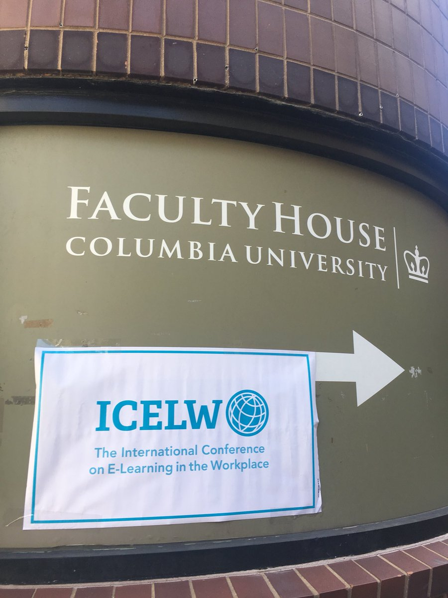 test Twitter Media - Back at Columbia university for #icelw2018 presenting #EmployID #MOOC experience for #workplace #learning https://t.co/nwoKwK9DzQ