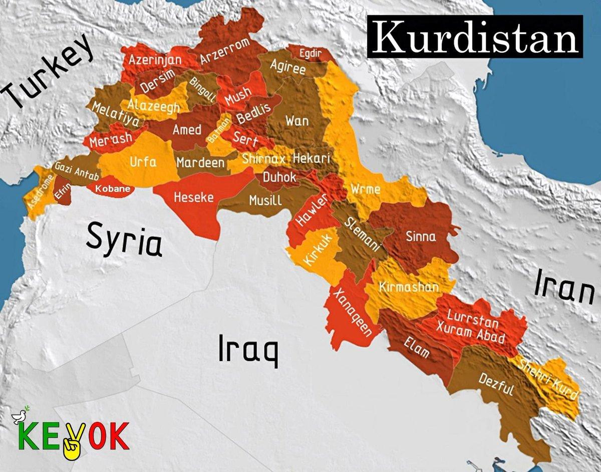 Kevok Foundation On Twitter Sowas Wo Ist Kurdistan Auf Der