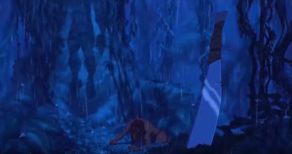 『ズートピア』 この一連のシーンはディズニーアニメ『ターザン』へのオマージュになっています。  ジュディとニックは首にツタが絡まなくって良かった良かった。