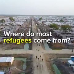 Tens of millions of people have been forced to flee their homes. This is where they come from.