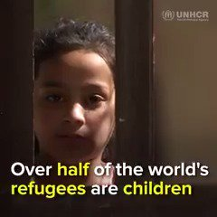 Children make up over half of the worlds refugees. Millions and millions of kids have known nothing but war, conflict, and life on the run. An entire generation is at risk of losing their childhood.