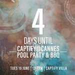 4 days to go! #CaptifyatCannes #CannesLions #CannesLions2018 #Cannes