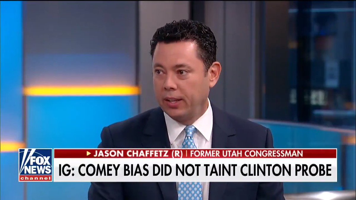 .@jasoninthehouse: The DOJ IG report is 562 pages of nothing but bias and animus