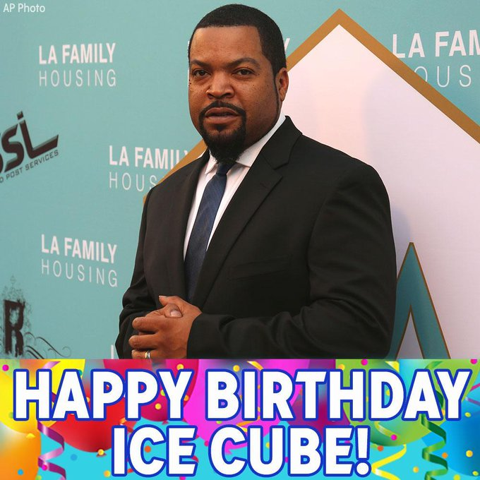 """Happy birthday to legendary rapper Ice Cube! We hope \""""It Was A Good Day.\"""""""
