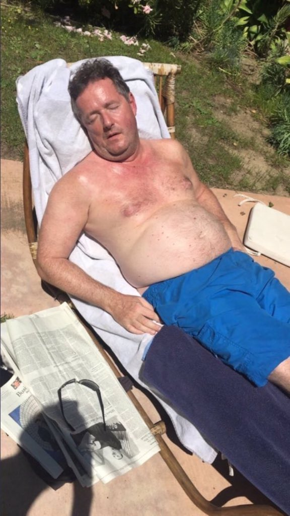 The face you pull when you sit on 12 thick inch 🤔😂@piersmorgan