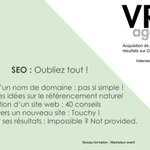 Image for the Tweet beginning: Formation avancée référencement naturel Google